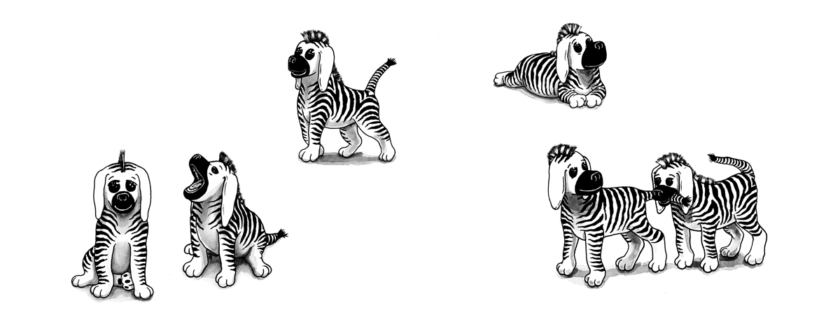 Zebra-Puppies,-C-W-Moss----378